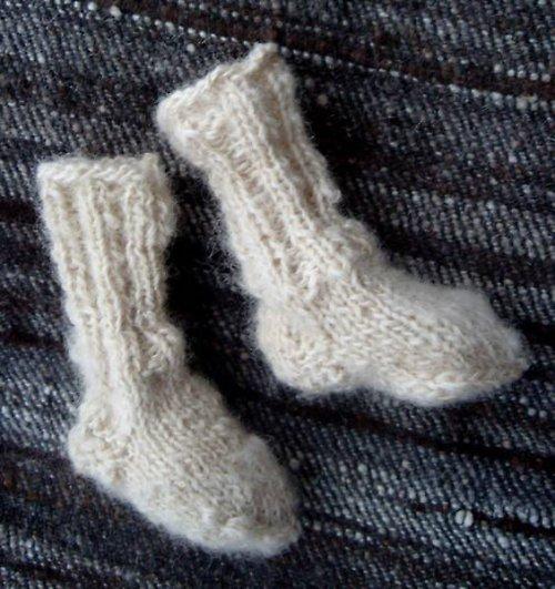 Ponožtičky-bačkůrky