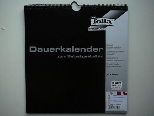 Nástěnný kalendář 23x24cm