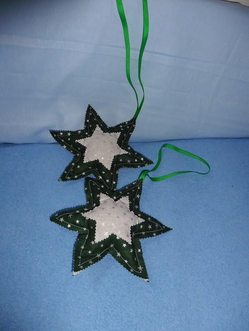 vánoční dekorace - hvězdička