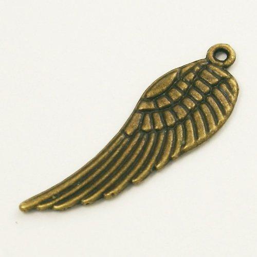 Přívěsek - bronzové křídlo 3 cm