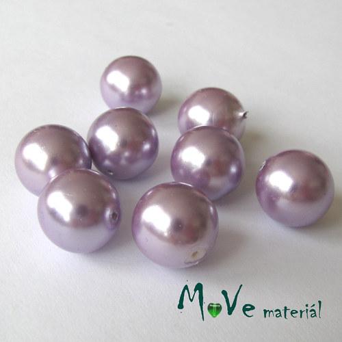 České voskové perle 12mm/8ks (cca 20g), lila