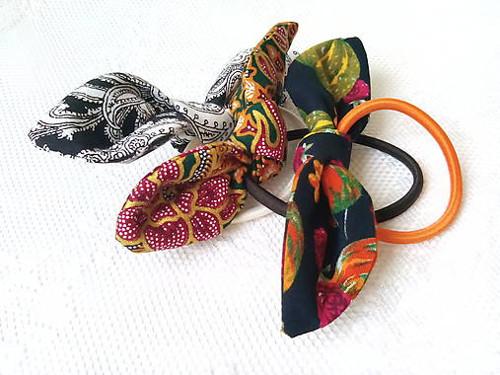 Mini scrunchies (orient)