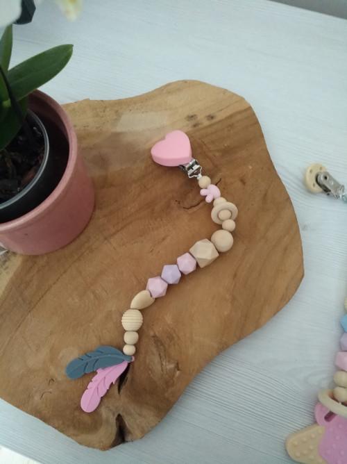 Kousátko - pírka růžová