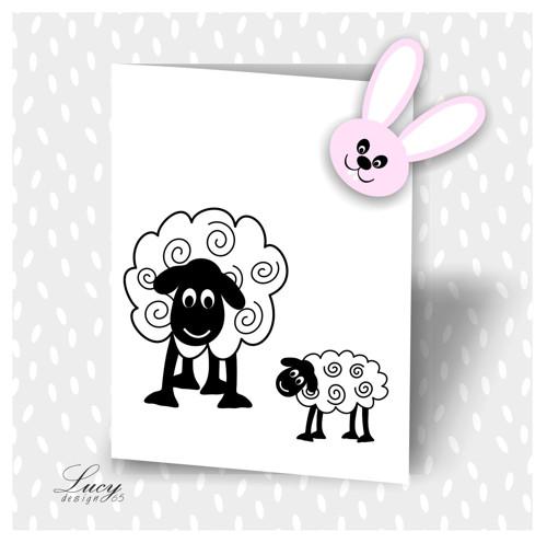 A mamííí...razítka ovečky