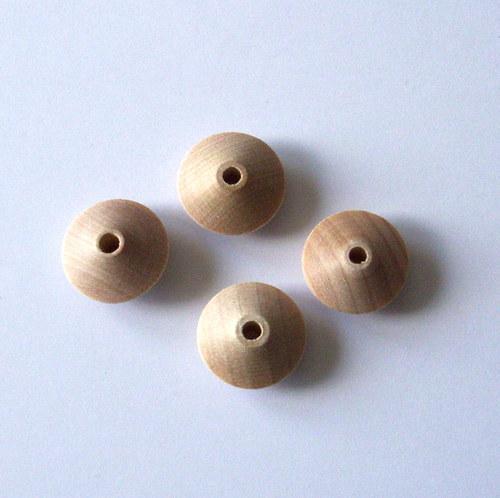 Dřevěná káča surová, 15 x 7 mm