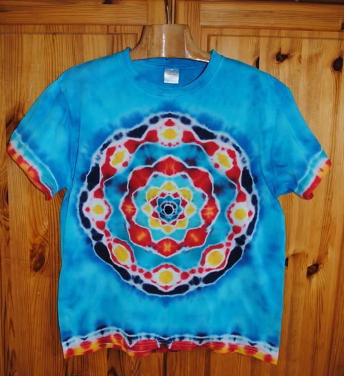 Batikované tričko - Veselá mysl