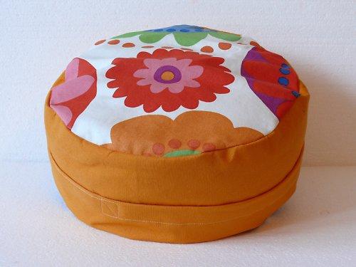Meditační sedák - pohank. slupky, Zafu, 12 cm