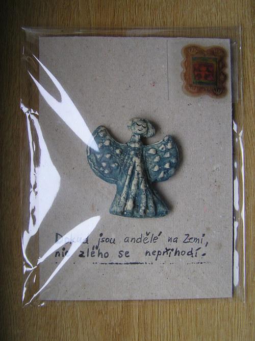 Přání s andělem