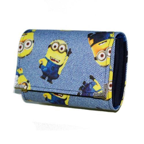 peněženka Mimoni jsou tady 13cm