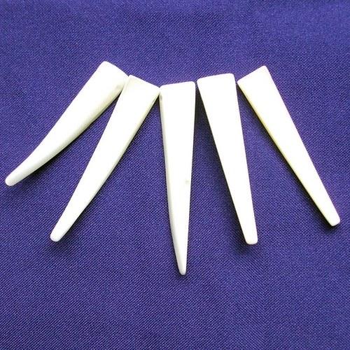 Perleťové zuby 5 ks