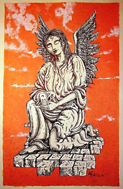 Melancholický anděl