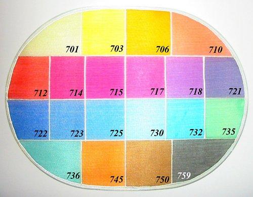 Silk color GL 732 akvamarínová, 60 ml