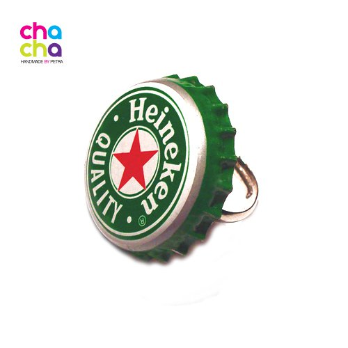 Prstýnek Heineken