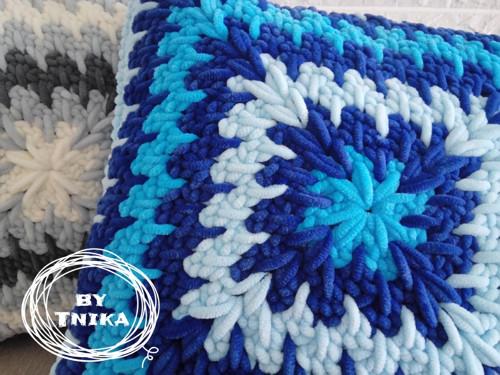 Polštář DODO BLUE
