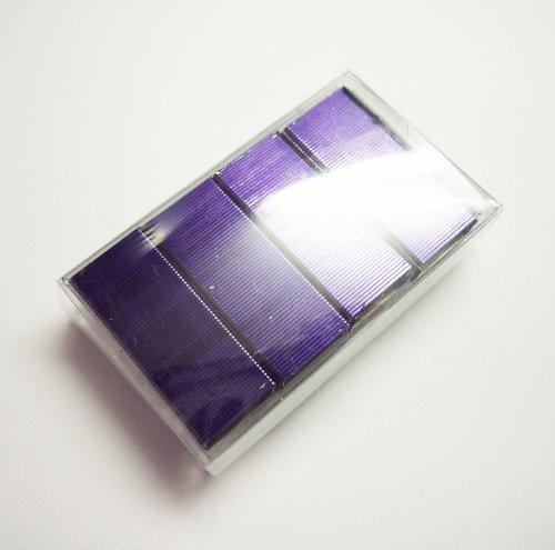 Sponky do sešívačky fialové (2 bloky = cca 125 ks)