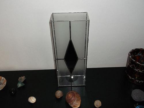 Vitrážová váza GOTHIC
