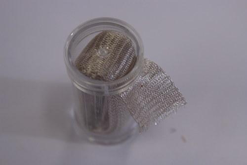 Drátěná dutinka 18-20mm, stříbrná - 1m