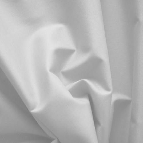 Metráž - bílé plátno 1,35x3m