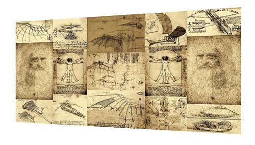 Bavlněný panel Vinci 21