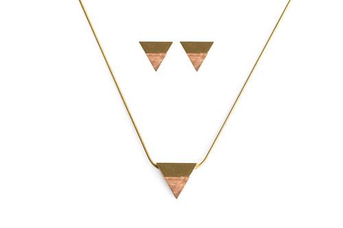 SOLE set Earrings & Necklace