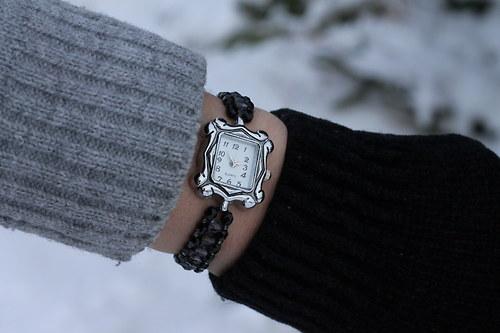 Náramkové hodinky - Deep Shadow