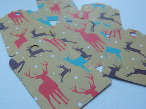 Jelene, jelene - vánoční visačka