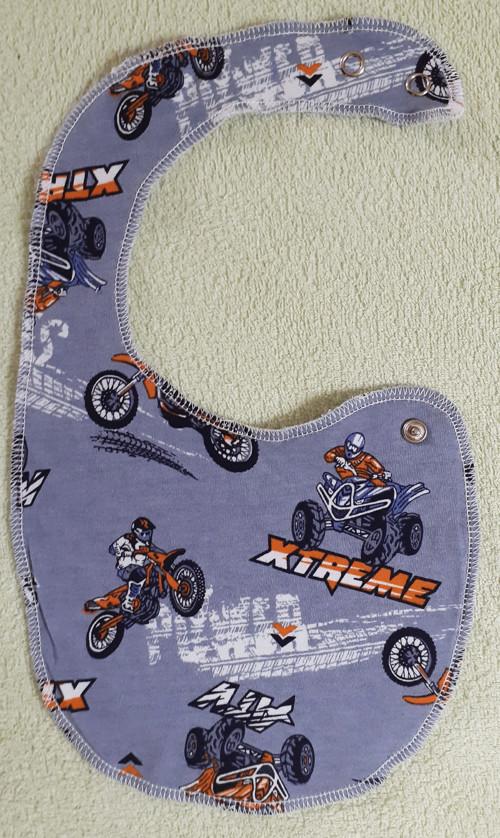 Chlapecký bryndáček motorky