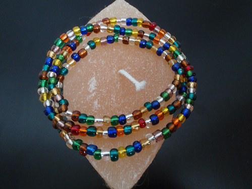 Korálko náramek - barevnost