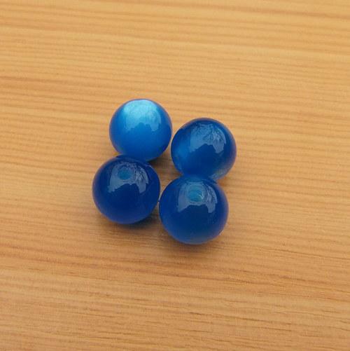 Korálky - resin - 12 mm - 10 kusů