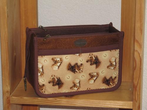 Organizér do kabelky - Podkovy zvoní