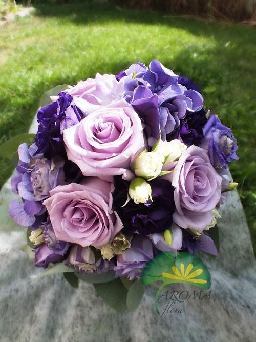 Svatební květina ***lila
