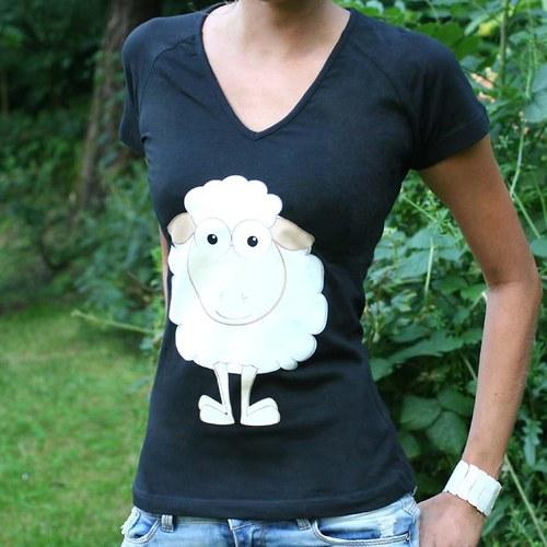 Tričko - ovečka ♥