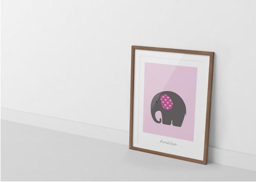Sloník pro štěstí I - plakát