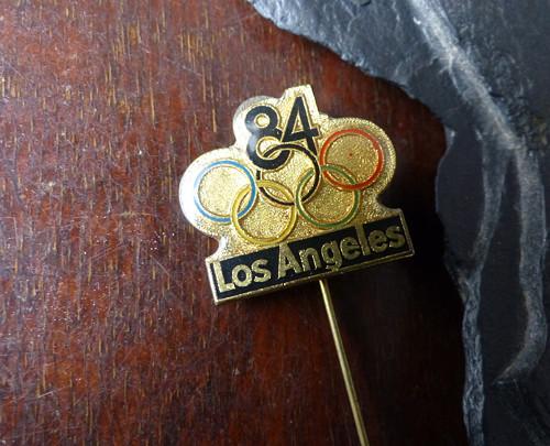 Los Angeles 1984...starý odznak