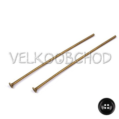 Ketlovací nýty 50 mm (250 ks) - staromosaz