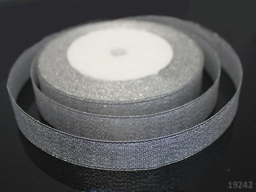 19242 Lurexová stuha stříbrná 20 mm, svazek 3m