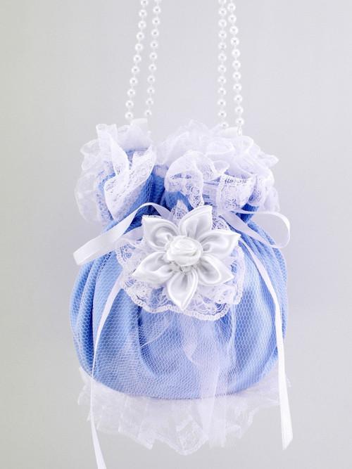 Pomparůrka modrá , kabelka  pro nevěstu RR1