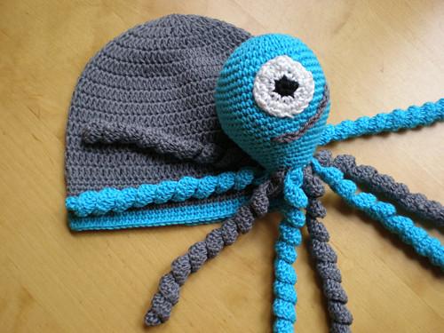 Chobotnička s čepičkou