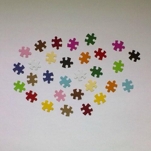 Výsek - Puzzle (menší) - 30ks