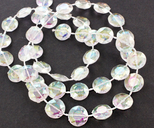 2 m AB Plast Akryl Diamond Bling Visí Křišťálové B