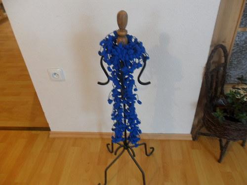 Bambulková šála modrá