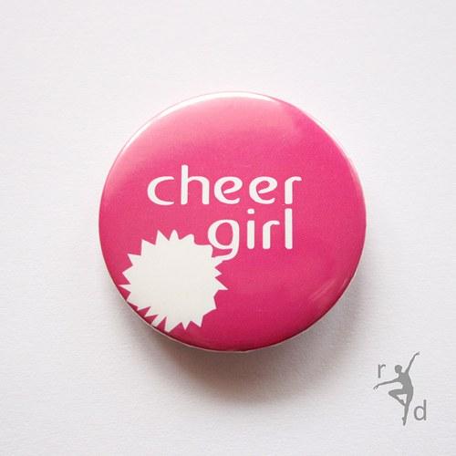 Placka CHEER GIRL