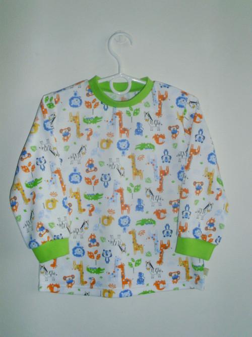 Tričko s dlouhým rukávem  v.86-158