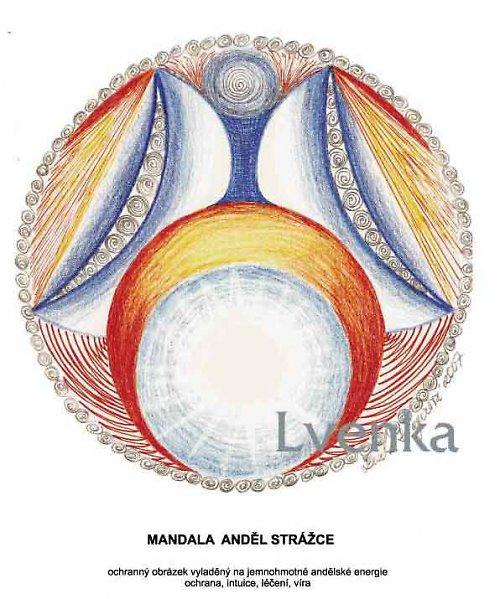 Mandala anděl strážce