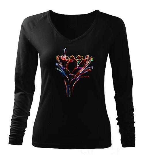 Dámské triko s dlouhým rukávem ,,Cereus,,