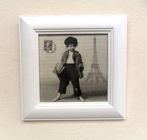 Obrázek Pařížský kluk
