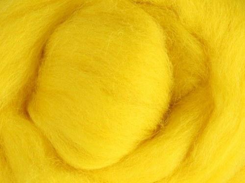 Česanec Merino Yellow 20 g