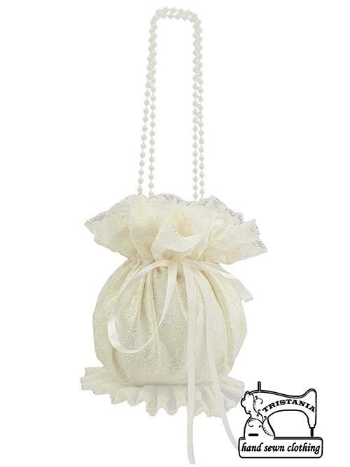 Pomparůrka ivory, kabelka pro nevěstu SD7