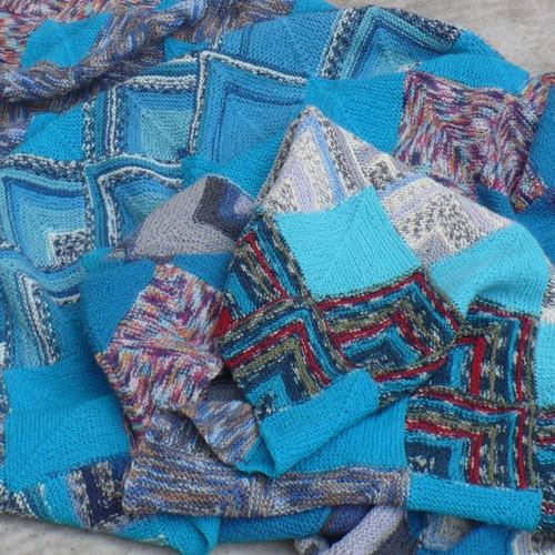 Jsi modrá jako ...pletená deka