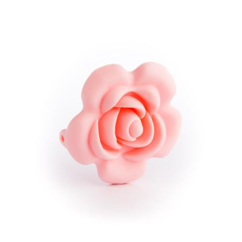 Silikonová růžička 40mm (1ks) - pink